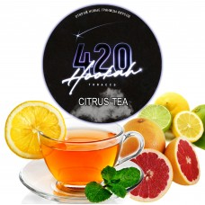 Тютюн 420 Dark Line Citrus Tea (Цитрус Чай) - 100 грам