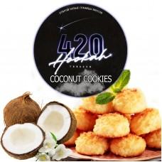 Тютюн 420 Dark Line Coconut Cookies (Кокос Печиво) - 100 грам