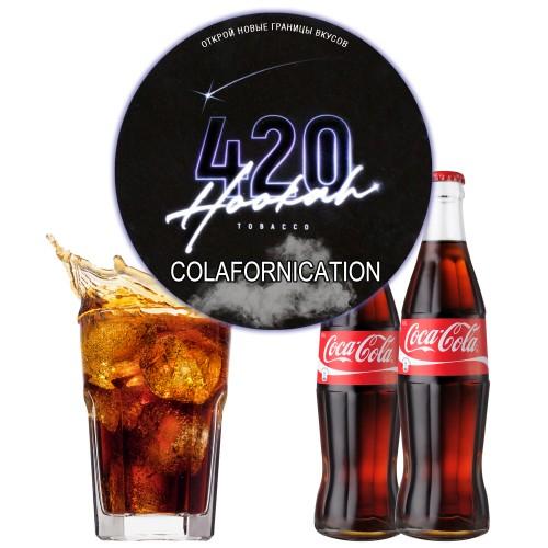 Табак 420 Dark Line Colafornication (Колафорникейшн) - 100 грамм