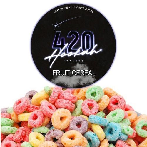 Табак 420 Dark Line Fruit Cereal (Фруктовые Хлопья) - 100 грамм