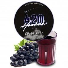 Тютюн 420 Dark Line Grape Soda (Виноградна Газировка - 125 грам