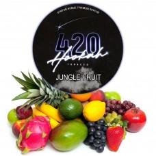 Тютюн 420 Dark Line Jungle Fruit (Мультифрукт) - 125 грам