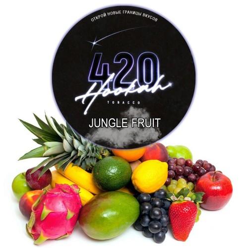 Табак 420 Dark Line Jungle Fruit (Мультифрукт) - 100 грамм