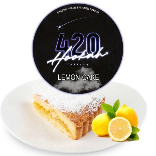 Табак 420 Dark Line Lemon Cake (Лимонный Пирог) - 100 грамм