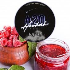 Табак 420 Dark Line Malvina (Малина) - 100 грамм