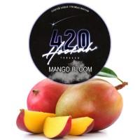 Табак 420 Dark Line Mango Bloom (Взрывное Манго) - 125 грамм