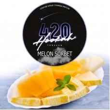Табак 420 Dark Line Melon Sorbet (Дыня Сорбет) - 100 грамм