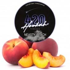 Табак 420 Dark Line Neasty Peach (Сладкий Персик) - 100 грамм