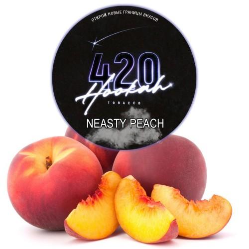 Тютюн 420 Dark Line Neasty Peach (Солодкий Персик) - 100 грам