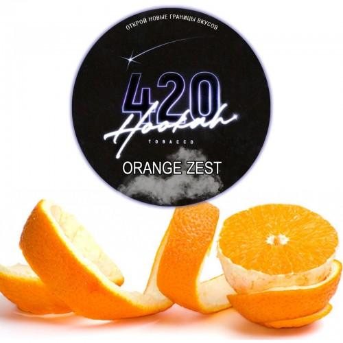Табак 420 Dark Line Orange Zest (Апельсин Зест) - 100 грамм