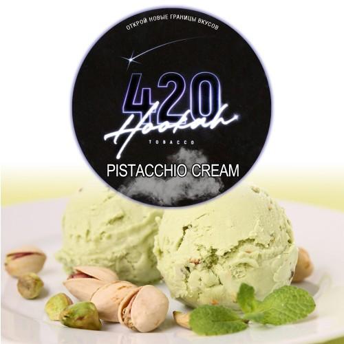 Табак 420 Dark Line Pistacchio Cream (Фисташковое Мороженое) - 100 грамм