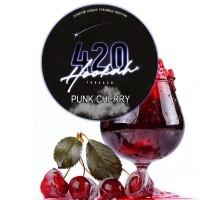 Табак 420 Dark Line Punk Cherry (Вишневый Сок) - 100 грамм