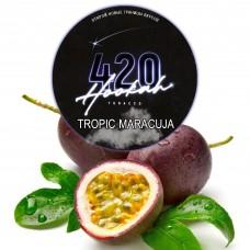 Табак 420 Dark Line Tropic Maracuja (Тропическая Маракуйя) - 100 грамм