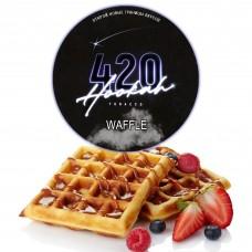 Табак 420 Dark Line Waffle (Бельгийские Вафли) - 100 грамм