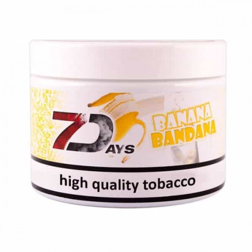 Tobacco 7Days Banana Bandana (Banana Bandana) - 200 grams
