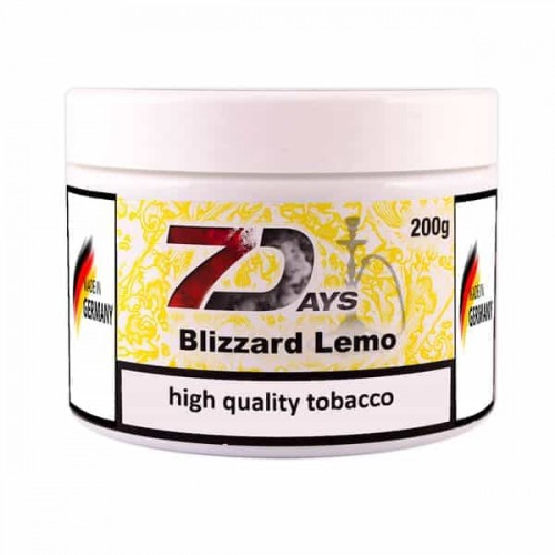 Tobacco 7Days Blizzard Lemo (Lemon Blizzard) - 200 grams