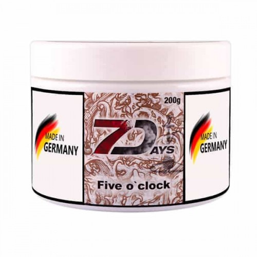 Tobacco 7Days Five Oclock Smoking (Smoking Five Hours) - 200 grams