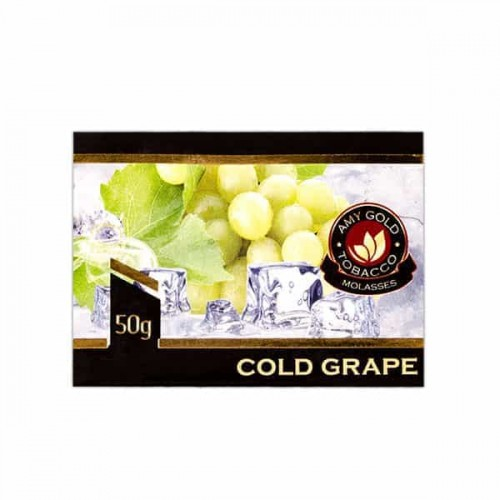 Табак AMY Gold Cold Grape (Лед Виноград) - 50 грамм