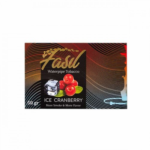 Тютюн Fasil Ice Cranberry (Лід Журавлина) - 50 грам