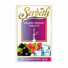 Тютюн Serbetli Ice Acai Raspberry (Лід Асаї Малина) - 50 грам