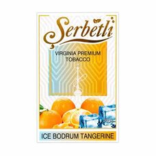 Тютюн Serbetli Ice Bodrum Tangerine (Свіжий Мандарин Лід) - 50 грам