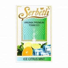 Табак Serbetli Ice Citrus Mint (Лед Цитрус Мята) - 50 грамм