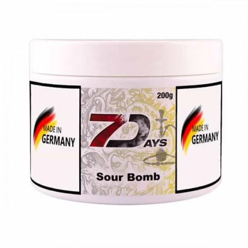 Табак 7Days Sour Bomb (Кислая Бомба) - 200 грамм