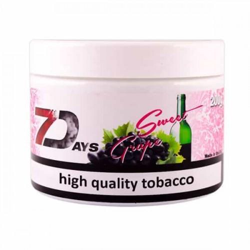 Тютюн 7Days Sweet Grape (Солодкий Виноград) - 200 грам