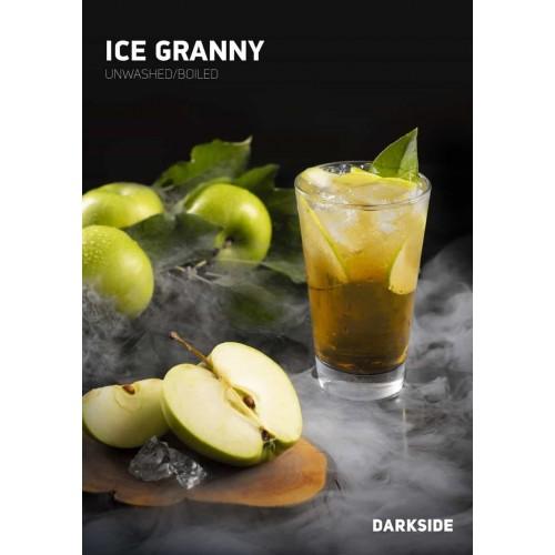 Табак Darkside Rare Ice Granny (Ледяное Яблоко) - 100 грамм
