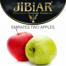 Tobacco Jibiar Emirates Two Apples - 100 grams