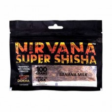 Табак Nirvana Banana Milk (Банан с Молоком) - 100 грамм
