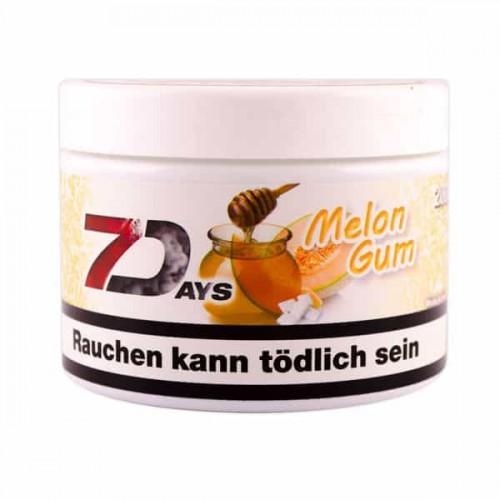 Табак 7Days Melo Gum (Жвачка Дыня) - 200 грамм