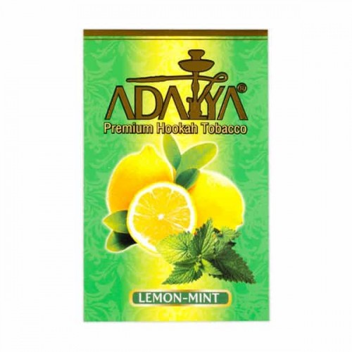Тютюн Adalya Lemon Mint (Лимон, М'ята) - 50 грам