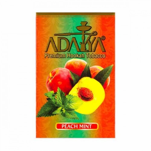 Табак Adalya Peach Mint (Персик Мята) - 50 грамм