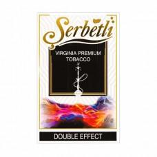 Тютюн Serbetli Double Effect (Подвійний Ефект) - 50 грам