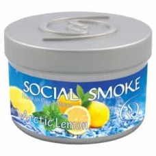 Табак Social Smoke Arctic Lemon (Арктический Лимон) - 100 грамм