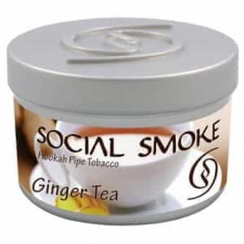 Табак Social Smoke Ginger Tea (Имбирный Чай) - 250 грамм