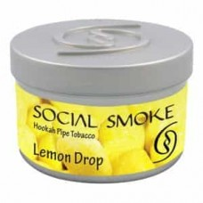 Tobacco Social Smoke Lemon Drop (Lemon Lollipops) - 100 grams