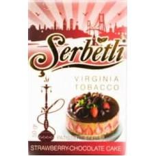 Табак Serbetli Chocolate Cake (Клубничный Шоколадный Пирог) - 50 грамм