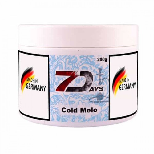 Табак 7Days Cold Melo (Холодная Мелодия) - 200 грамм