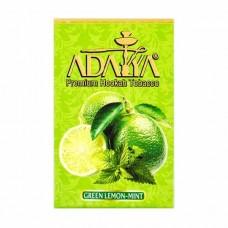 Табак Adalya Green Lemon Mint (Зеленый Лимон Мята) - 50 грамм
