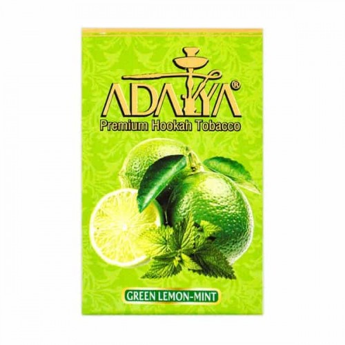Tobacco Adalya Green Lemon Mint - 50 grams