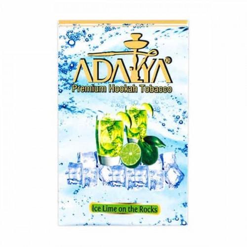 Табак Adalya Ice Lime on the Rocks (Ледяной Лайм) - 50 грамм
