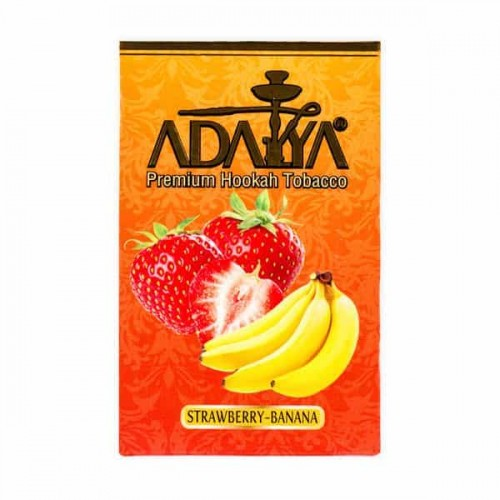Табак Adalya Strawberry Banana (Клубника Банан) - 50 грамм