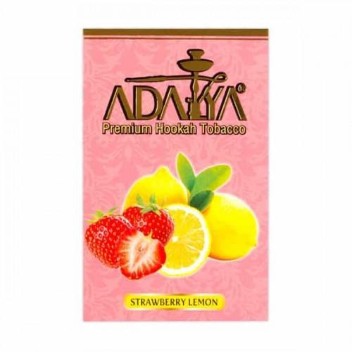 Табак Adalya Strawberry Lemon (Клубника Лимон) - 50 грамм