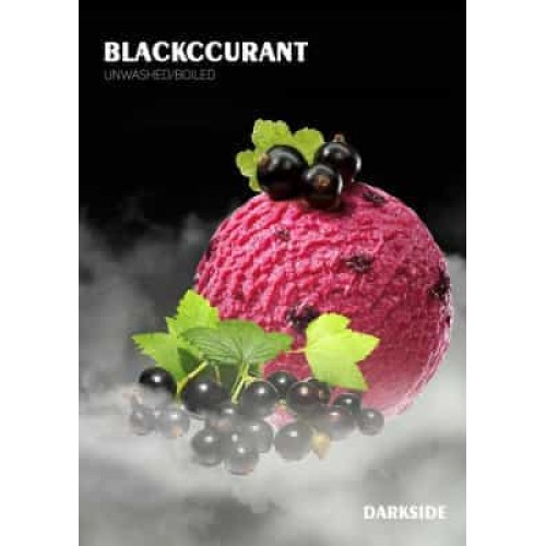 Табак Darkside Soft Blackcurrant (Черная Смородина) - 250 грамм