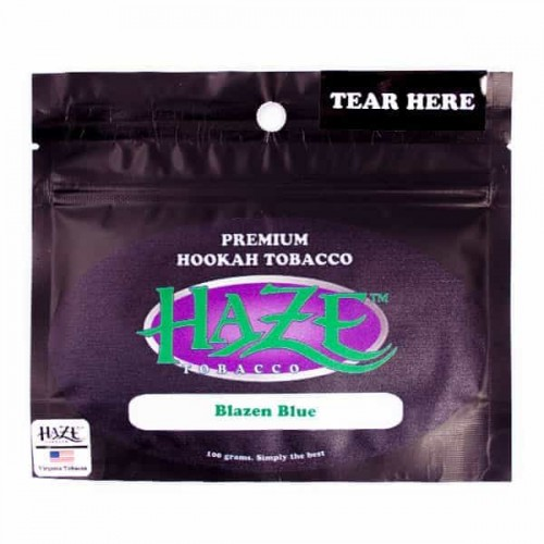 Табак Haze Blazen Blue (Голубой Взрыв) - 100 грамм
