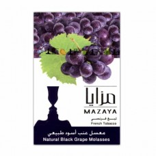Табак Mazaya Black Grape (Черный Виноград) - 50 грамм