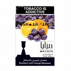 Тютюн Mazaya Blueberry with Orange (Чорниця Апельсин) - 50 грам