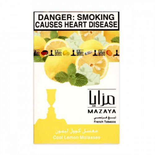 Табак Mazaya Cool Lemon (Прохладный Лимон) - 50 грамм